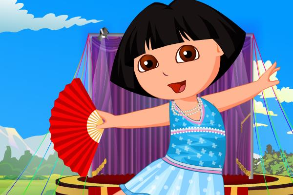 Really. All dora the explorer ballet
