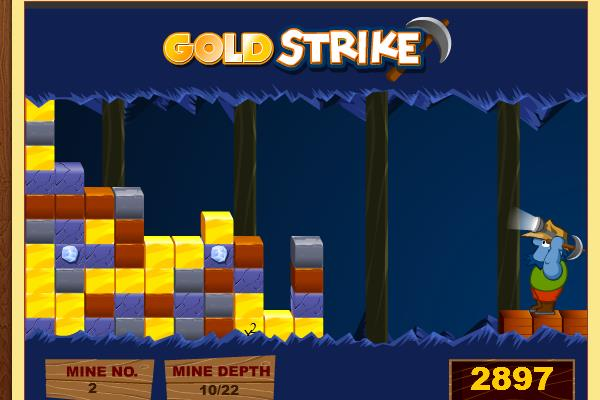 Gold Strike Game Full Screen