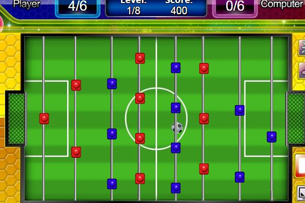 Play table soccer game online a k a foosball or table football - Who invented table football ...