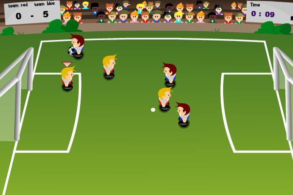 Poker goals soccer