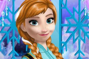 Disney Frozen Dress Up Game Makeover Game Do Anna A Makeup